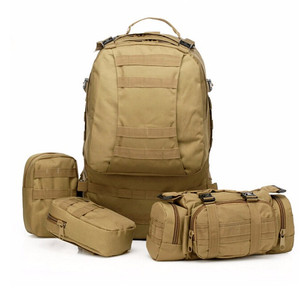 Image 4 - High Quality 50L  Large capacity Multifunction Military Backpack Camouflage Molle Army Backpacks Rucksack Men Travel Backpack