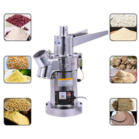 Automatic Hammer Grinder Mill Commercial Electric Stainless Grain Grinder Mill Ultra fine Powder Grinding Machine