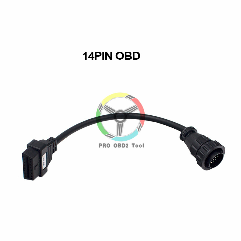 Newest Full Set 8Pcs Truck Cables OBD2 Diagnostic OBD OBDII Connect Cable For Wow Snooper Multidiag TCS CDP Pro Plus