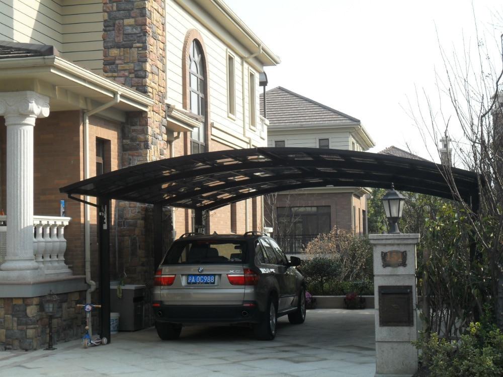garde Aluminum carport with polybonate sheet roof car ...
