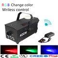 2017 RGB chage цвет Беспроводного управления LED 400 Вт дым машина/LED туман машина/400 Вт LED fogger/сценическое оборудование LED дым машина