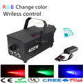 2017 RGB chage color Wireless control LED 400W smoke machine/ LED fog machine /400W LED fogger/stage equipment LED smoke machine