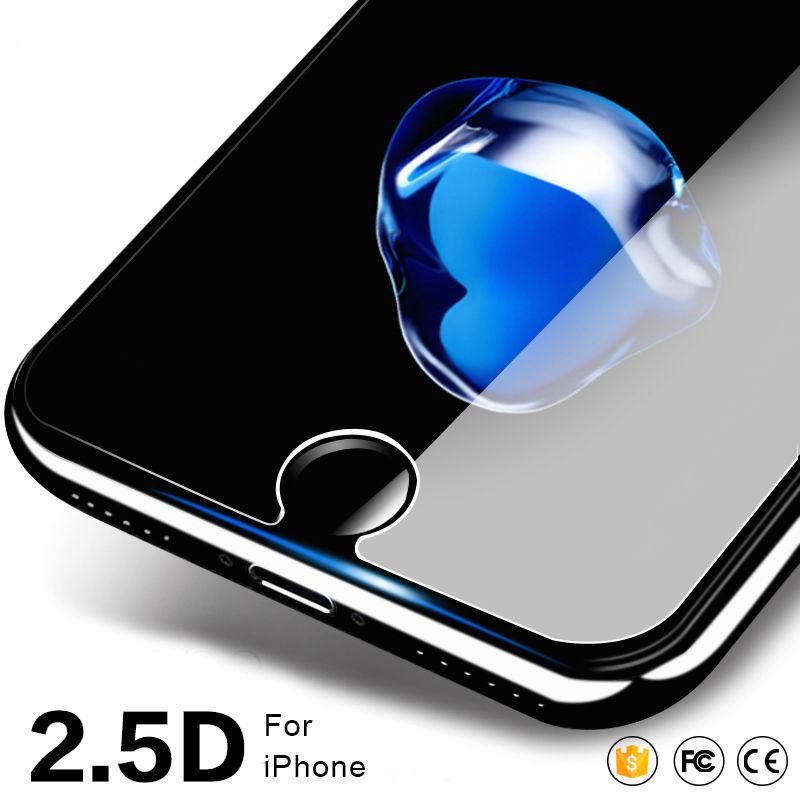 imágenes para Para el iphone 7 Templado Protector de Pantalla de Cristal para iPhone 4 5 6 6 Más 7 Más con el Paquete De Cristal 270 unids/lote
