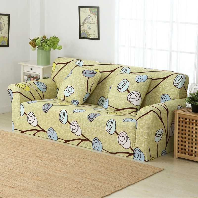 LAGMTA 1 قطعة 100% البوليستر مرونة غطاء أريكة شامل غطاء أريكة منشفة مقعد واحد/اثنين/ثلاثة/أربعة مقاعد