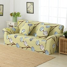 LAGMTA 1pc 100% Polyester Elastic sofa cover All-inclusive sofa cover towel Single seat / two /three/ four seater(China)