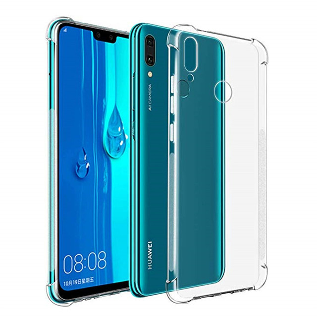 online store 6fd8e 1602e US $1.76 12% OFF|For Huawei Y9 2019 TPU Case 6.5 inch Airbag Cover  Shockproof Back Cover for Huawei Y6 Y7 Prime P Smart 2019 Soft Silicone  Cover-in ...
