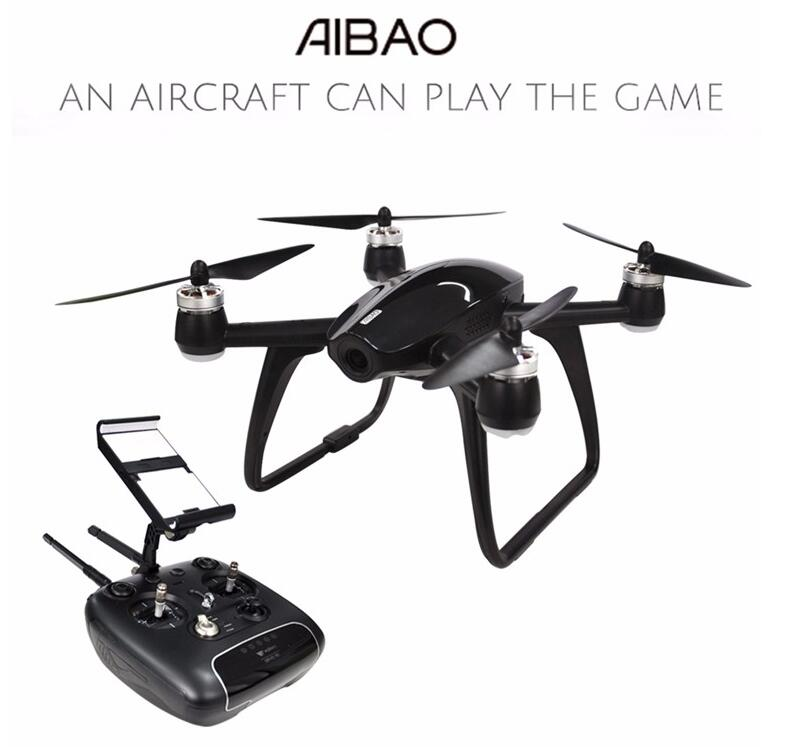 Original Walkera Aibao With 4K HD Camera APP Virtual Racing WIFI FPV RC Quadcopter RTF An Aircraft Can Play The Game 100% original new runcam 2 fpv hd camera av out fpv camera runcam2 1080p 120 angle wifi for walkera qav250 rc racing drone