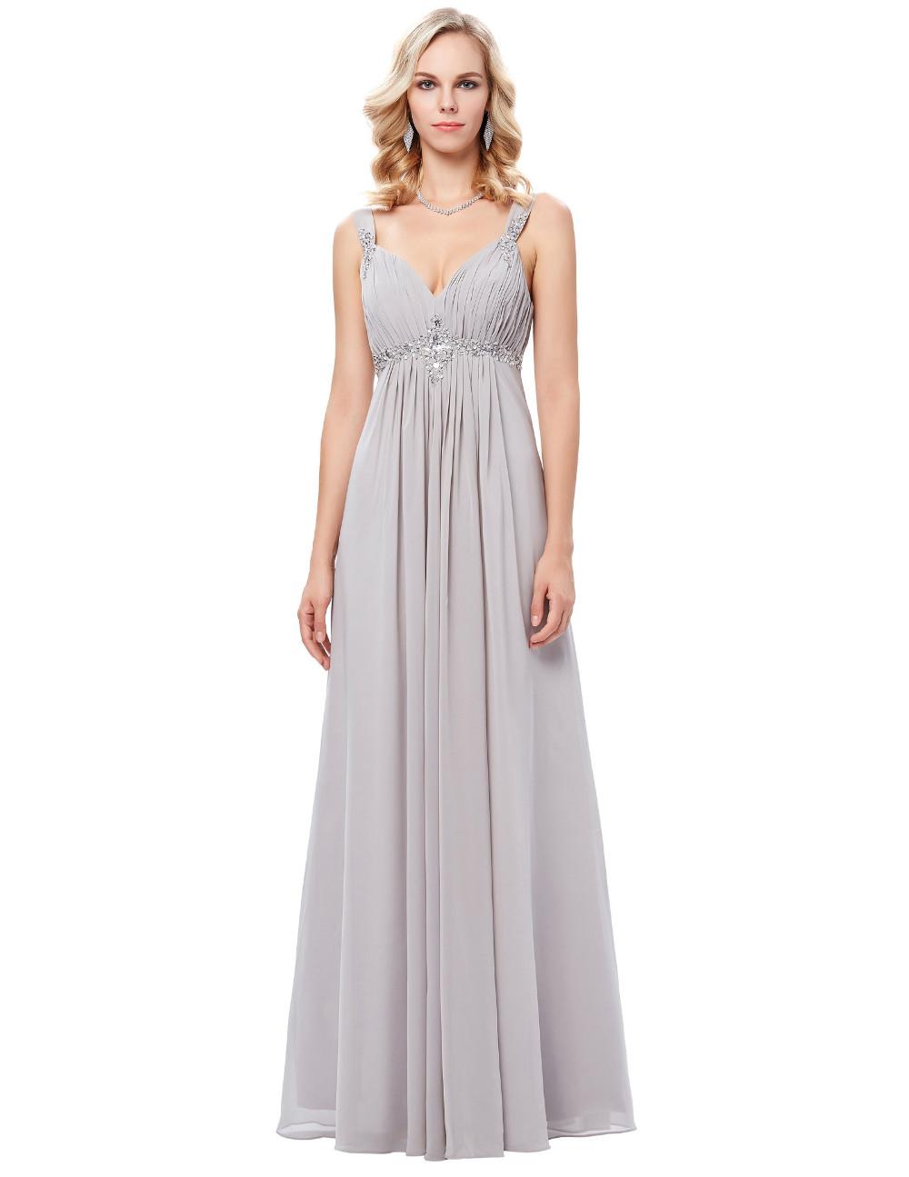 HTB1Fv3gOFXXXXbIXFXXq6xXFXXXuLong Formal Dress Elegant Floor Length Chiffon Dress