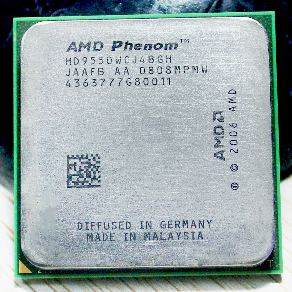 Original AMD Phenom CPU X4 9550 processador 2.2G AM2 + 940 Pinos Quad CORE/2 MB Cache L2 95w