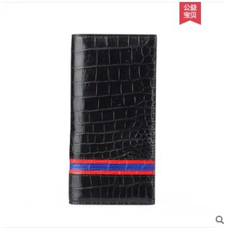 pugete Thai crocodile leather wallet for men long youth handmade wallet for men genuine leather wallet for men - 5