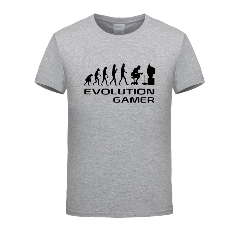 Evolution Of A Gamer Pc Geek Leisure Time T Shirt