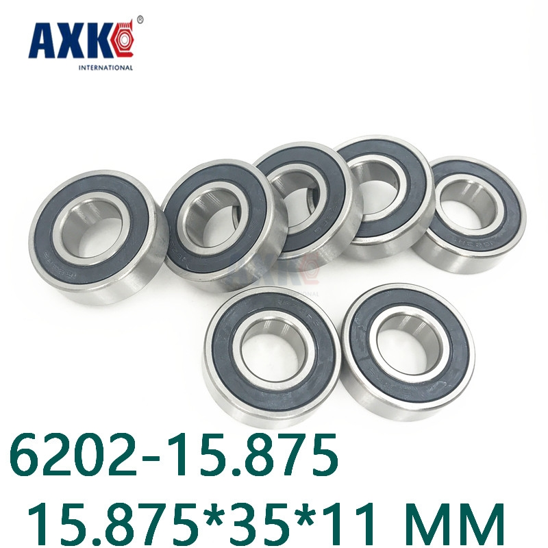 Axk High Quality Inch Bearings Special Bearings Deep Groove Ball Bearings 6202 6202-5/8 2rs 6202-15.875 15.875*35*11 Mm gcr15 6326 zz or 6326 2rs 130x280x58mm high precision deep groove ball bearings abec 1 p0