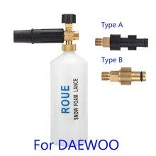 Pistola de espuma/jabón de alta presión Foamer/lanza de espuma para nieve para lavadora rusa DAEWOO de alta presión/boquilla de espuma