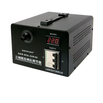 Solid state voltage regulator 380v three-phase electronic thyristor regulator high power voltage regulator 0-380v thermostat