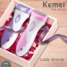 Kemei female shaver rechargeable shaving & hair removal