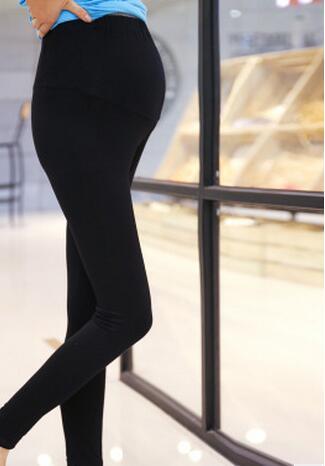 2017 Autumn spring  Adjustable Maternity Leggings High Elastic Warm Pants Clothes for Pregnant Women