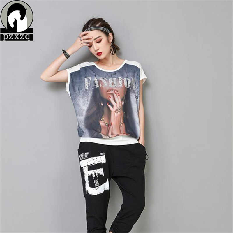 2018 Harajuku Women Ladies Sexy Casual Diamonds Letter Printing T-shirt Short Sleeve Tops Plus Size T Shirt Women Short Feminino