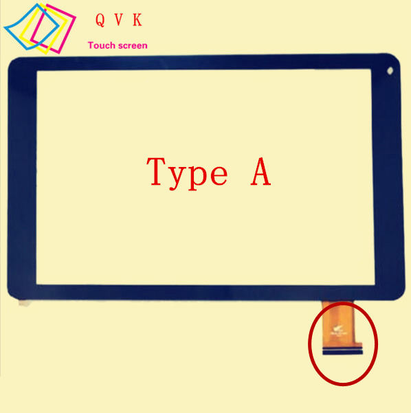 10.1 Inch for Oysters T104MBi 3G tablet pc capacitive touch screen glass digitizer panel Free shipping
