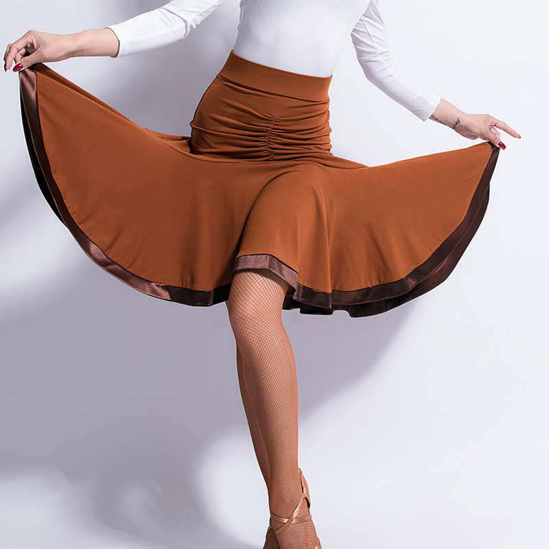 0a4cc1820f20 Detail Feedback Questions about Female Adult Latin Dance Skirt Package Hip Dress  Cha Cha Samba For Women Training Clothes Fish Bone Half Skirt S 2XL DWY1084  ...