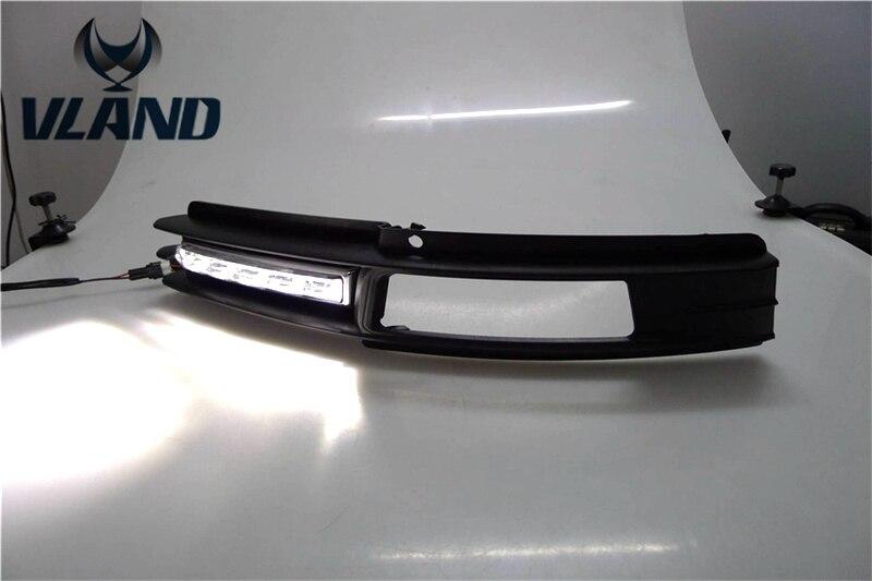 Vland № для автомобилей туман лампа для Audi A6 A6L светодиодный дневного света бар супер яркий год 2009 ~ 2011