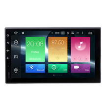 7″ Two Din Android 6.0.1 Universal Car Tap PC Tablet Player Quad Cores 1G RAM 16G ROM 3G/4G GPS Navigation Radio Stereo Video