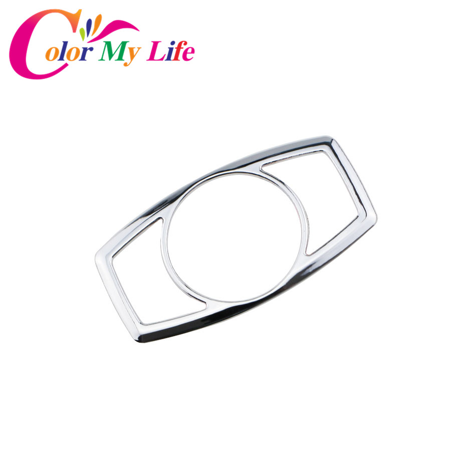 Car Abs Chrome Headlight Switch Trim Cover Sticker For Ford Focus 3 2012 Light 4 Mk3 2017 Mondeo Kuga Edge Mustang F150 F250 F350 F450 In Stickers From