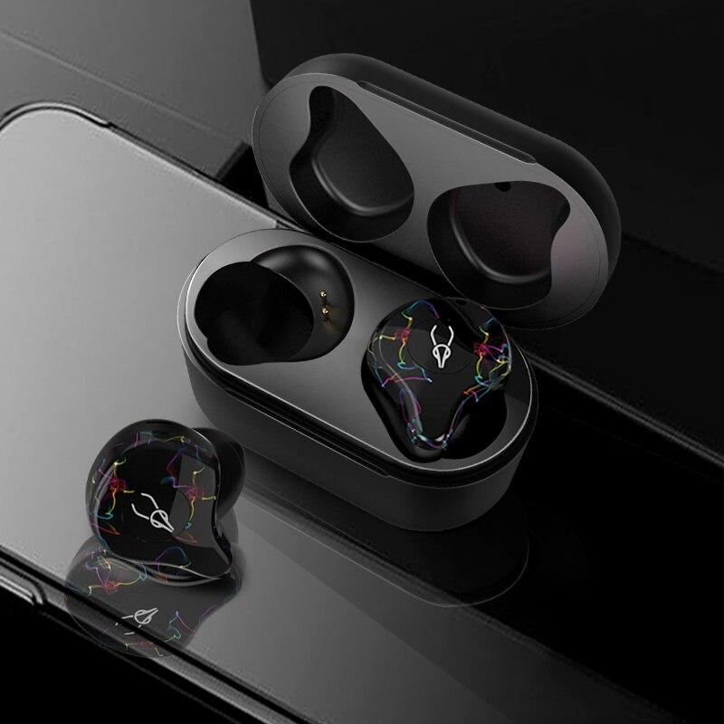 Sabbat Mini TWS V5.0 Bluetooth Écouteurs Sport Étanche Vrai Sans Fil Écouteurs Stéréo Dans l'oreille Bluetooth Sans Fil mini-écouteurs Casque