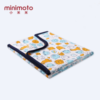 Two Layers Infant Baby Quilts Newborn Fleece Cartoon Bedding Cover Sofa Blanket Swaddle Cotton Sleep Muslin Wrap Kids Blankets