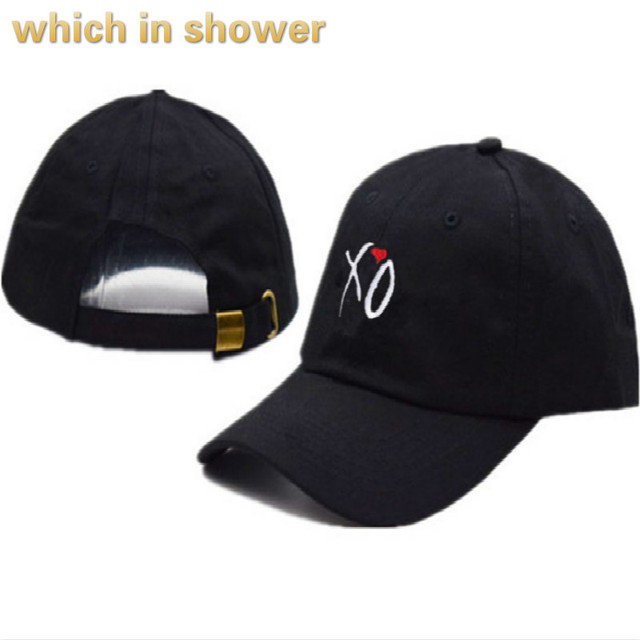 39b3afab572d81 XO Dad Hat For Women Men Cotton Unstructured Baseball Cap X.O Lovers Strap  Back Hat The Rapper Snapback Cap Bone Drop Shipping