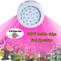1pcs UFO II 300W Double Chip Full Spectrum Led Plant Grow Lamps LED Horticulture Grow Light for Garden Flowering Hydroponics