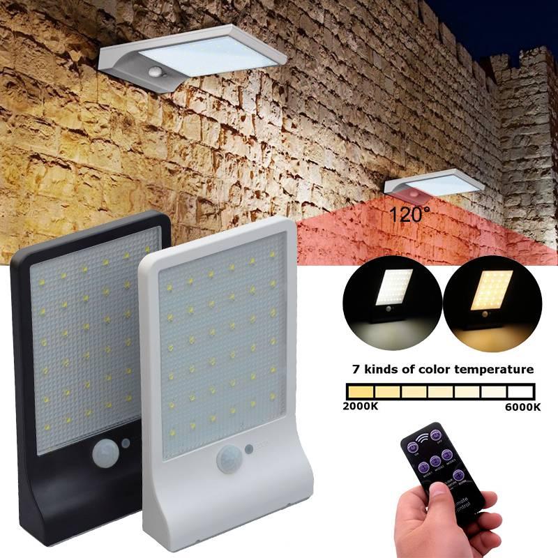 OutDoor Street Road Garden Motion Sensor Light Control LED Solar Light Wall Lamp