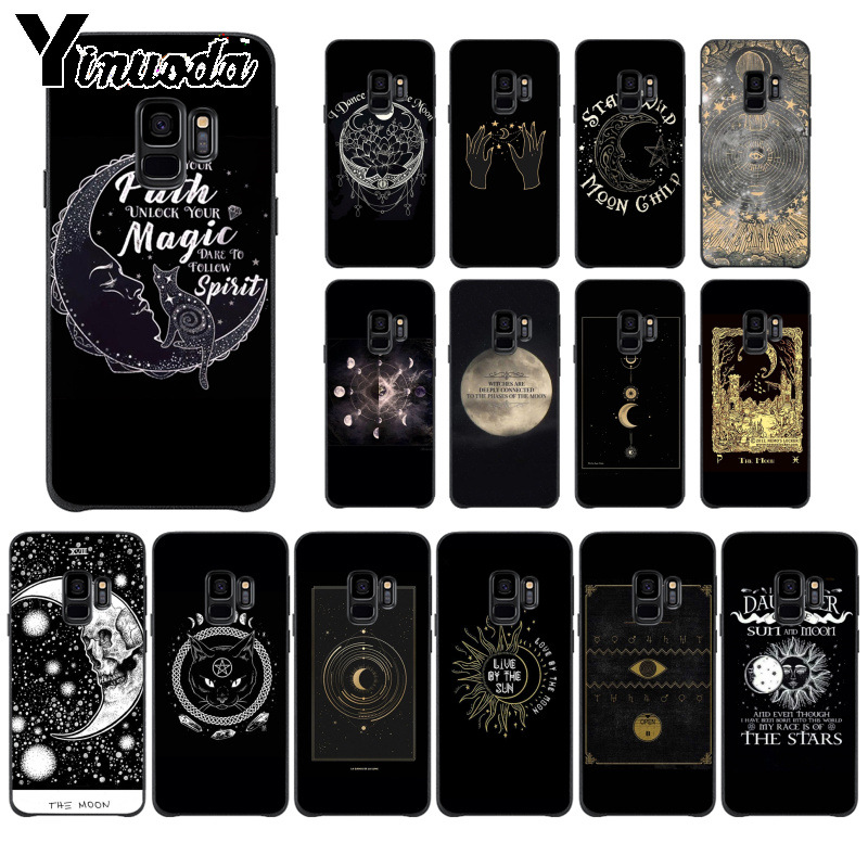 Full Range Of Specifications And Sizes And Great Variety Of Designs And Colors Lovely Yinuoda Augur Moon Tarot Divine Tpu Soft Phone Case For Samsung S9 S9 Plus S5 S6 S6edge S6plus S7 S7edge S8 S8plus Famous For High Quality Raw Materials