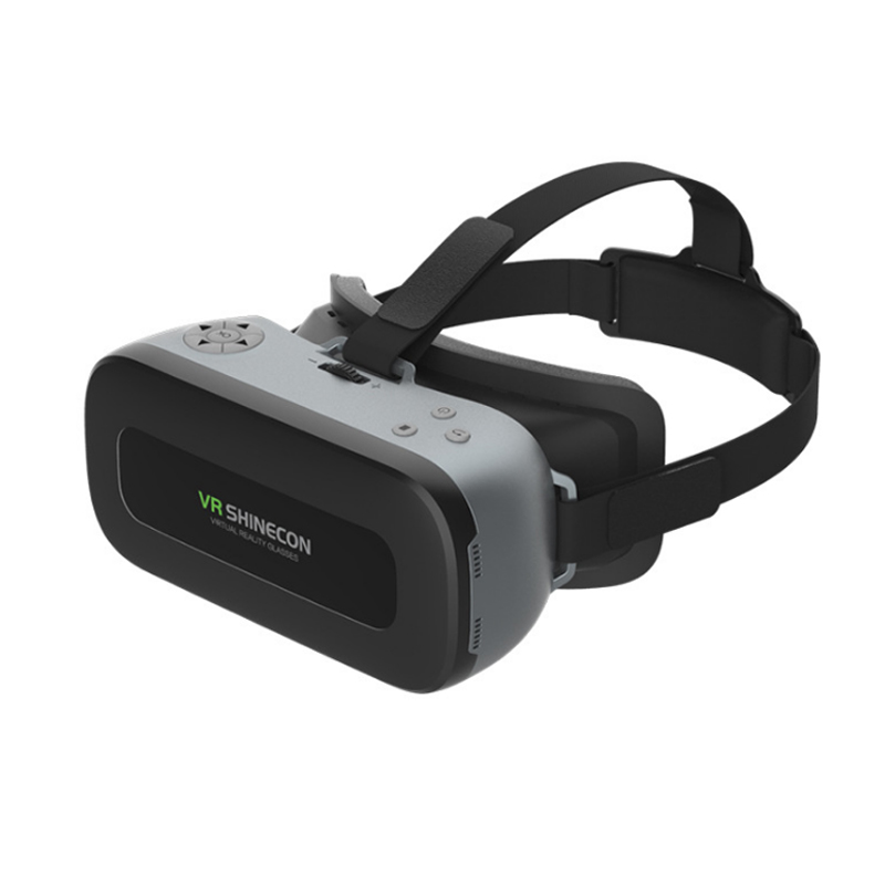 VR one 3D virtual reality headset wearing glasses vr reading travel applications