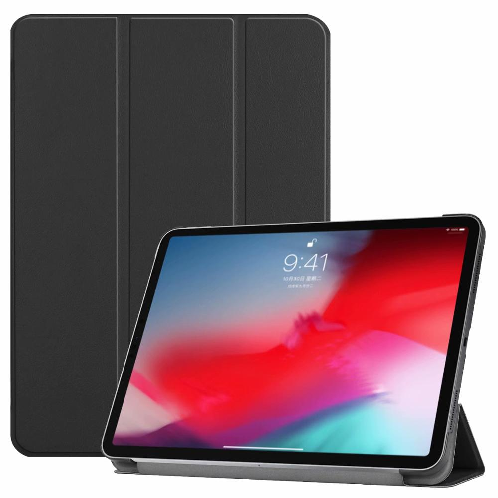 Black iPad Pro3 11 2018 smart case with different patterns
