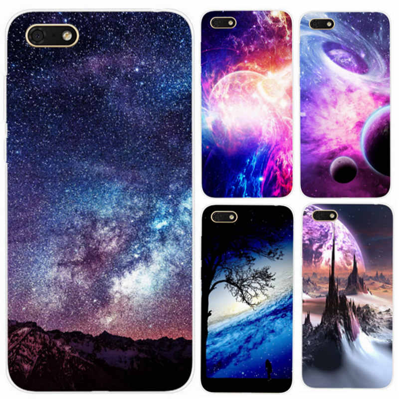 Funda For Huawei y5 lite 2018 Phone Case Star Space Skin Soft Silicone TPU Back Cover Coque For Huawei Honor 7s DRA-LX2 Cases