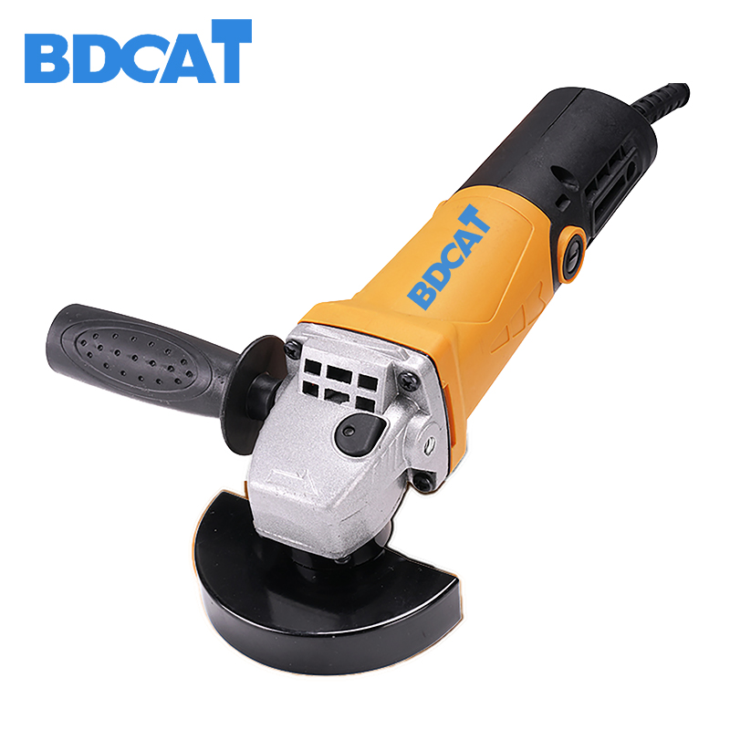 BDCAT Angle Grinders Free Shipping High Power Cutting Grinding Machine Multi-functional Angle Grinder Hand Mill Electric Tool brush stayer cup for angle grinders twisted 0 3 mm x 75mm m14 015 701 repair discounts high quality lure male tool