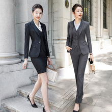 IZICFLY New Style Office Ladies Uniform business womens suits set