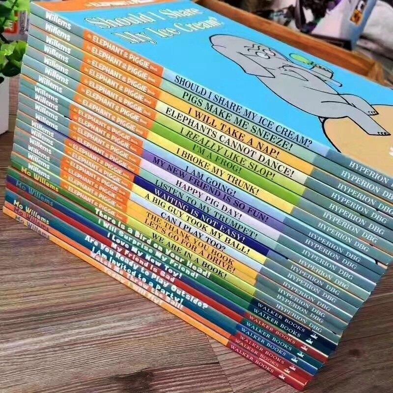 25 livros definir Um Elefante & Piggie