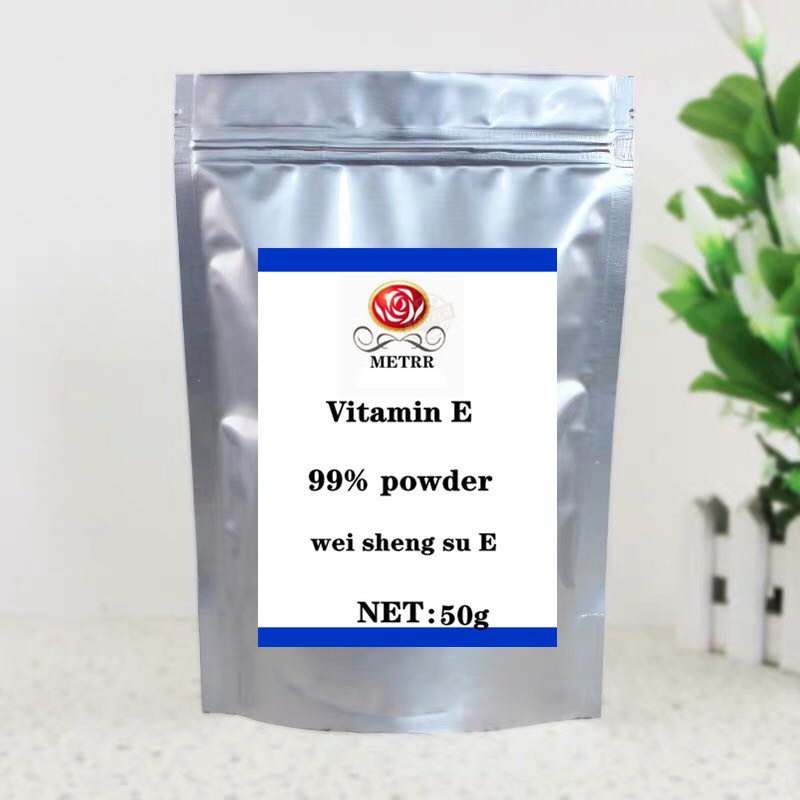 50g-1000g High Quality Vitamin E Powder 99% Vitamin E Powder, Nutritional Fortifier, Improve Skin Elasticity, Prevent Skin Aging
