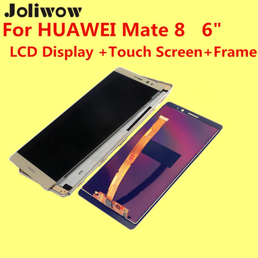 De alta calidad para huawei mate 8 lcd display + touch screen + frame + herramie
