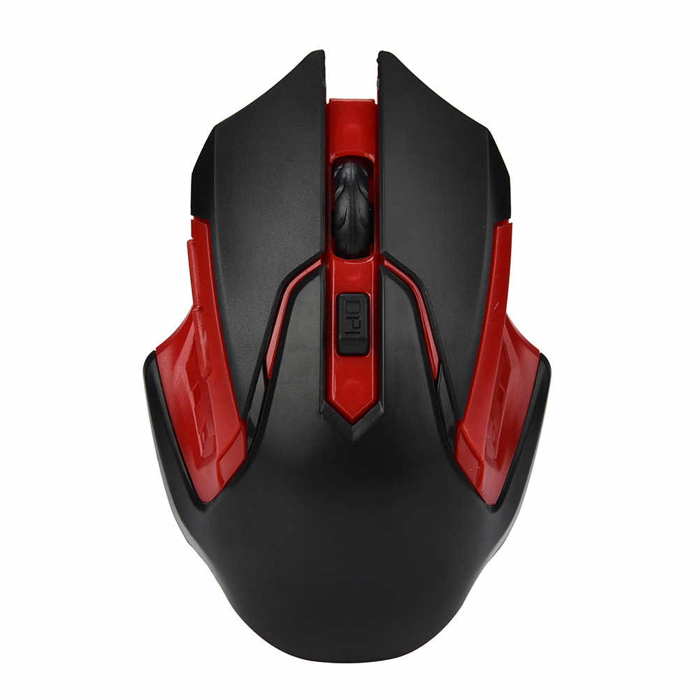 Beautyss SALE 6 Keys 3200DPI 2.4GHz Wireless Optical Professional Gaming Mouse Mice For Computer Mouse PC Laptop