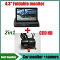 CCD HD Автомобильный парковка резервная камера Для Ford Transit заднего вида Камера заднего вида + монитор Автомобиля