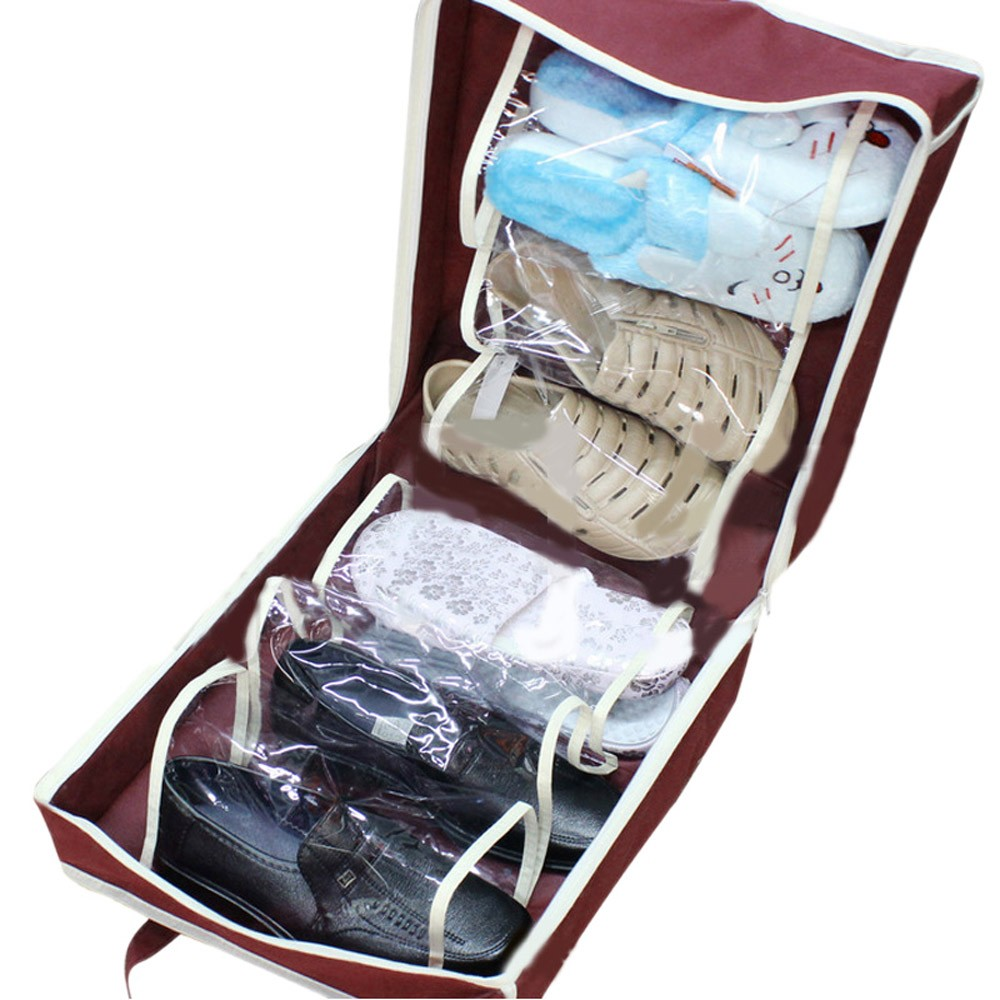 Bags & Baskets Shoe Bag Dust-proof Portable Shoes Travel Storage Bag Organizer Tote Luggage Carry Pouch Holder #4m12 For Improving Blood Circulation