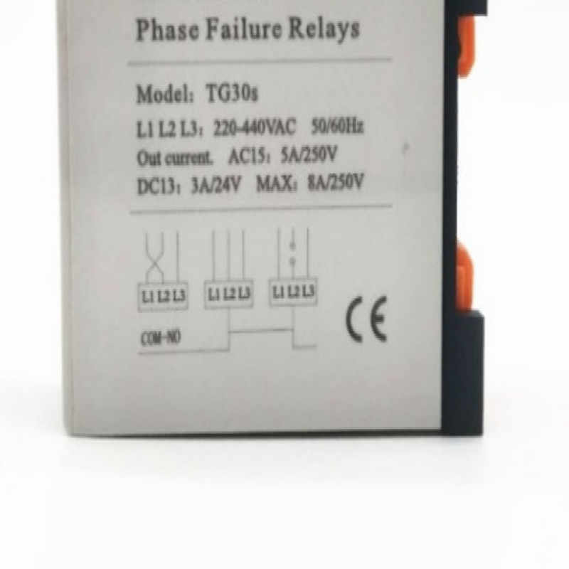 220-440v lift XJ12 elevator TG30S 3-phase relay 380V Voltage detection Open  phase Phase sequence protection