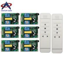 Buismotor garagedeur/projectiescherm/luiken AC 220 V RF Draadloze Afstandsbediening schakelaar Digitale scherm