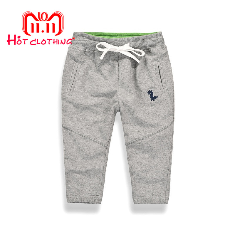 Pioneer Camp Kids 2018 New Arrival Spring Slim-fit Active Pants Children Cotton Pants Boys Girls Casual Pants 6 Colors Kids Pant pants cavagan pants href page 6