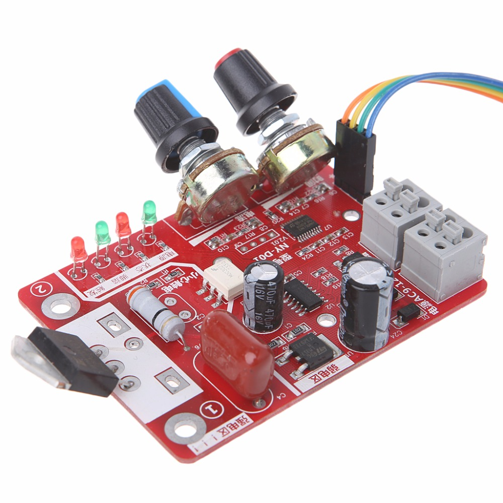 Spot Welder Time Control Board 40A Current Controller with Digital Display Price $13.78
