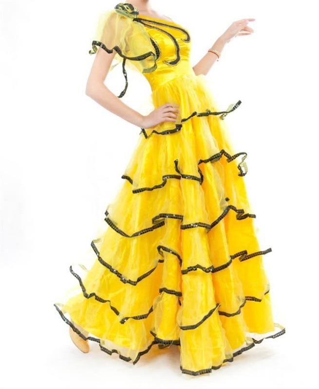 Ballroom Dance Dress Beaded&Diamond High-Grade Vestido De Formatura Jazz/Waltz/Tango Dance Costume Prom Ballroom Dresses