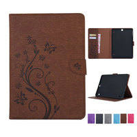 Butterfly Pattern PU Leather Case For Samsung Galaxy Tab S2 9 7 T810 T815 T813 T819