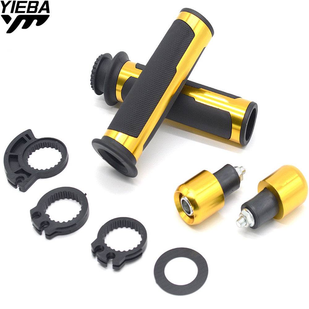 7/822mm Motorcycle handlebar grips & handle bar ends hand cap FOR KTM FREERIDE 350 450SMR 500XC-W/EXC (SIX DAYS) RC200 RC390